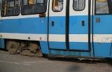 Mężczyzna potrącony przez tramwaj na ul. Hallera we Wrocławiu. MPK wprowadziło objazdy