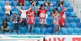 Polska - Słowacja 1:2: Kibice ze Śląska na meczu w Sankt Petersburgu ZDJĘCIA FANÓW