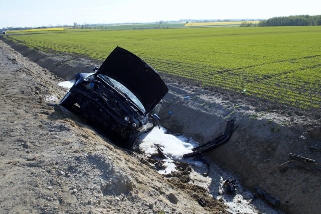 W sobotę (9 maja) doszło do kolizji samochodu osobowego z ciągnikiem rolniczym. Do zdarzenia doszło w Duninowie (gmina Ustka).