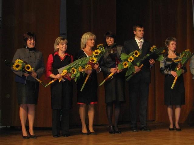 Jak co roku część nauczycieli otrzymało Nagrodę Burmistrza