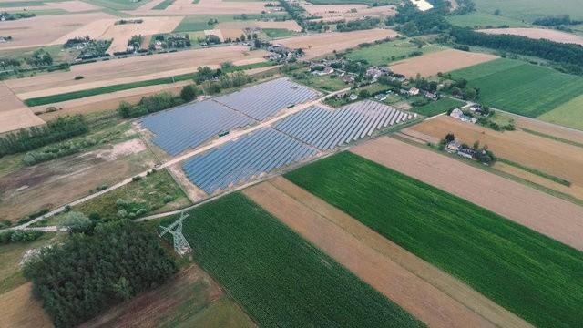 Największa w Polsce farma fotowoltaiczna Energi