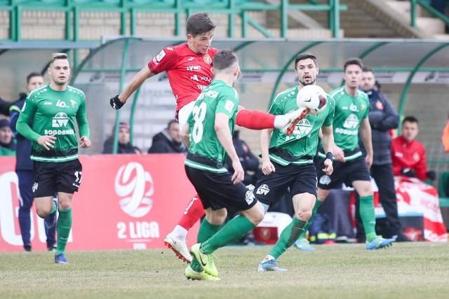 Tylko raz Widzew wygrał  mecz w II lidze ze Skrą Częstochowa