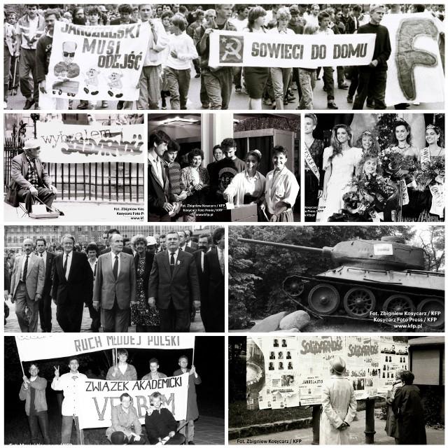 """Wiemy, że wśród naszych Czytelników jest wiele osób, które mają  zdjęcia z tamtych czasów. Dlatego podjęliśmy akcję dokumentowania pamiątek z tamtych gorących dni kwietnia, maja i początku czerwca 1989, polskiej """"wiosny demokracji""""."""