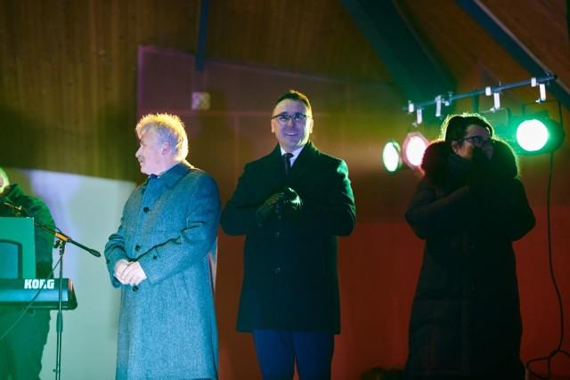 Burmistrz Tomasz Matlakiewicz złożył widzom życzenia noworoczne.