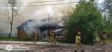 Kraków. Spłonął drewniany dom w Nowej Hucie. Na miejscu zginęła jedna osoba