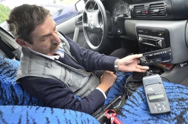 W tym roku są kłopoty z homologacją kas w taksówkach