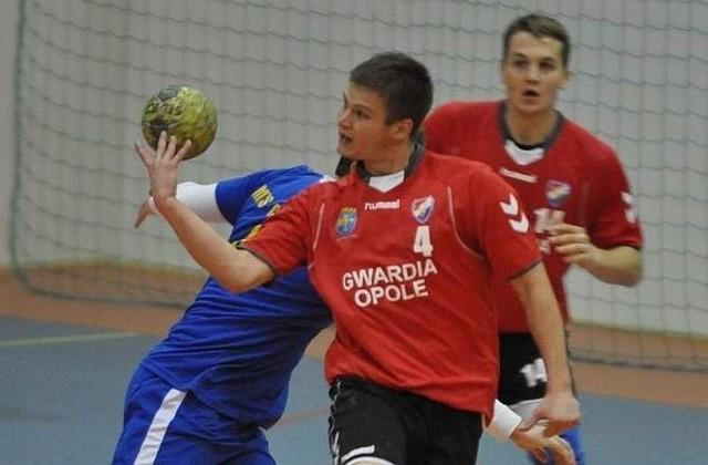 W akcji Paweł Swat z Gwardii Opole.
