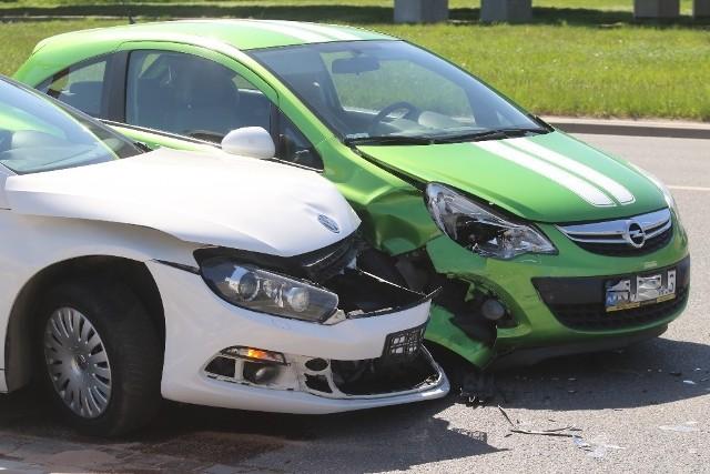 Wypadek przy Stadionie Miejskim we Wrocławiu 11.05.2021