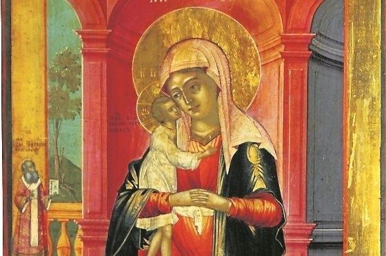 """Ikona Matki Bożej """"Odnalezienie Zagubionych"""" po renowacji"""