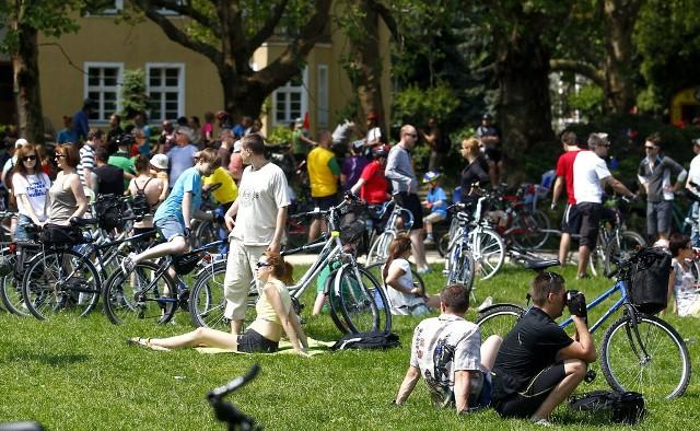 W zeszłorocznym przejeździe wzięło udział około 4000 cyklistów.