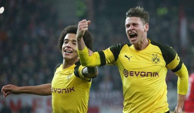Na zdjęciu: Łukasz Piszczek (z prawej). Mecz RB Lipsk - Borussia Dortmund odbył się w sobotę 19.01.2019 ramach 18. kolejki Bundesligi. Borussia pokonała rywala w hicie 1:0 po bramce Axela Witsela [wynik meczu, relacja].