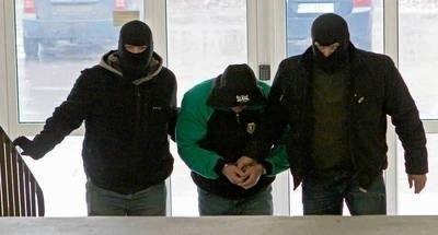 """Paweł M. pseudonim """"Misiek"""" spędził w więzieniu sześć lat za atak nożem i udział w zbiegowisku kiboli FOT. ANNA KACZMARZ"""
