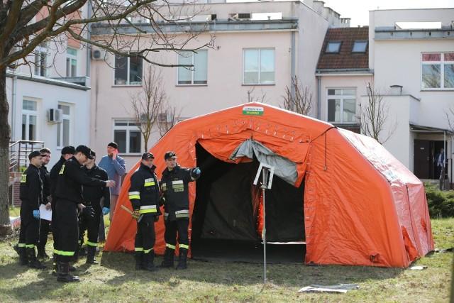 Michał Dworczyk: Strażacy pomogą dostać się do punktów szczepień
