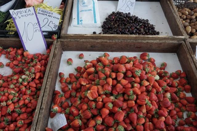 Jakie są ceny owoców i warzyw na łódzkich rynkach? W sobotę 6 czerwca odwiedziliśmy Górniak.