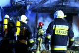Tragiczny pożar altany w Pile. Nie żyje mężczyzna