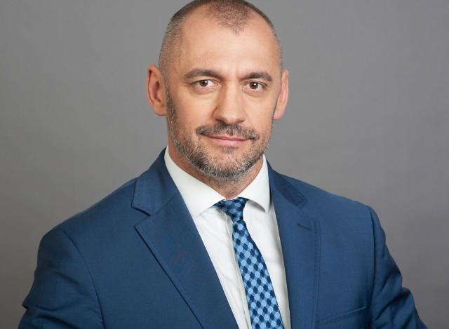 Bartosz Kublik - prezes Banku Spółdzielczego w Ostrowi Mazowieckiej