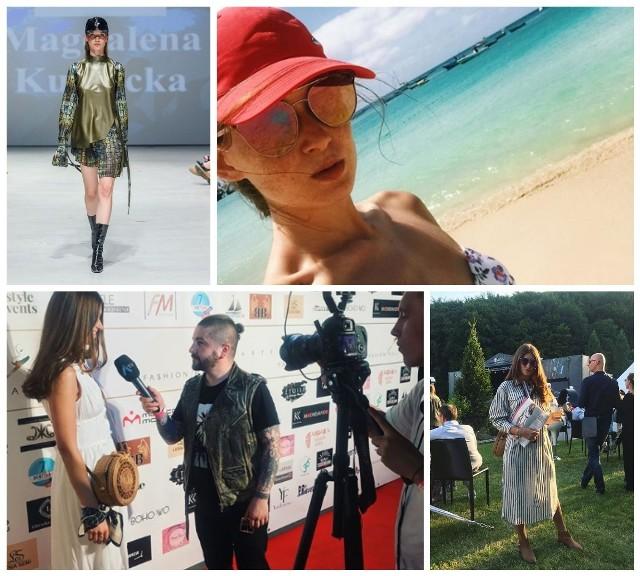 Magdalena Kurnicka jest 26-letnią projektantką mody z Białegostoku. Już we wrześniu będzie można obejrzeć jej debiutancką kolekcję w sekcji młodych projektantów podczas Fashion Week w Mediolanie.