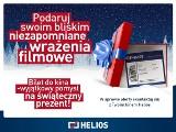 Podaruj bliskim voucher do kina Helios i weź udział w mikołajkowych konkursach