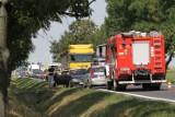 Wypadek na drodze Wrocław - Kłodzko. Zderzenie 3 aut i utrudniony przejazd
