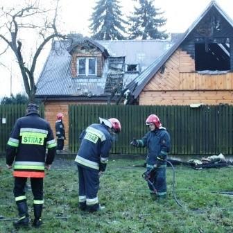 Ratownicy szybko poradzili sobie z pożarem.