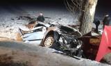 Wypadek w Wierzbięcicach pod Nysą. Zginęły dwie osoby, dwie są ranne