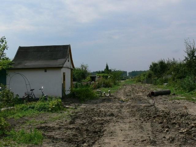 """Na terenie Rodzinnych Ogrodów Działkowych """"Siarkopol"""" w Tarnobrzegu są uprawiane 564 działki i niemal na każdej stoi altana."""