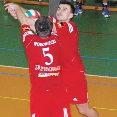 Sebastian Wójcik (przodem) i Konrad Woroniecki tworzą zgrany duet. Od ich postawy w meczu z Nysą wiele zależy.