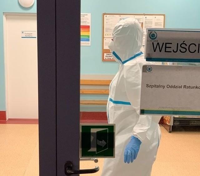 Tak wyglądał Szpitalny Oddział Ratunkowy w Olkuszu po przyjęciu pacjenta z podejrzeniem zarażenia koronawirusem