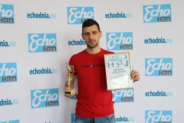 Dominik Leśniewski zajął dziewiąte miejsce