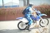 Motory na ścieżkach rowerowych w Opolu