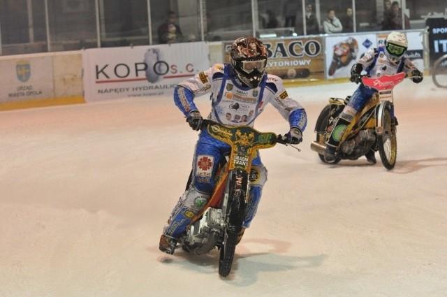 Mateusz Kowalczyk jest stałym gościem w Opolu. Zresztą ma na koncie wygraną w turnieju żużlowym na lodzie.