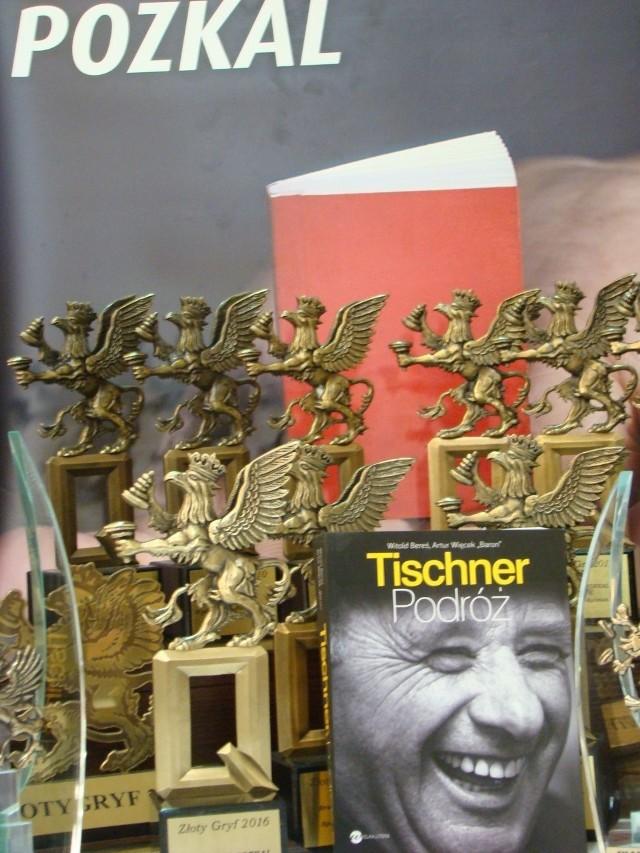 Nagrodzona książka  wśród Złotych i Diamentowych Gryfów