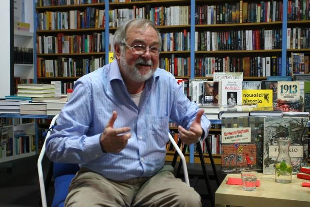 """Roberto Innocenti opowiadał m.in. książce """"Czerwony Kapturek w wielkim mieście"""""""