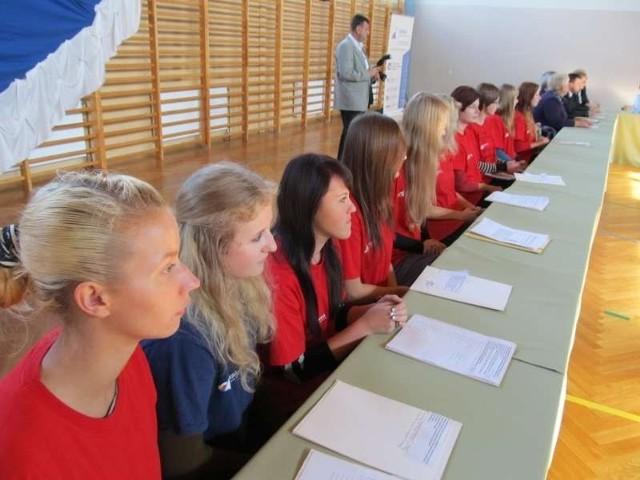 Swoimi doświadczeniami chciała się również podzielić młodzież uczestnicząca w projekcie.