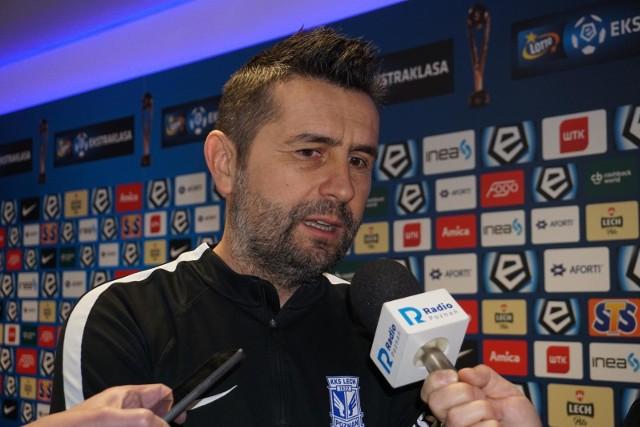 Nenad Bjelica: Byłem w polskim Lechu Poznań i mieliśmy młodą drużynę w III lidze, a klub chciał grać młodymi zawodnikami. Teraz walczysz o mistrza Polski, a oni proszą cię o grę młodymi zawodnikami, którzy zajmują ósme miejsce w III lidze.