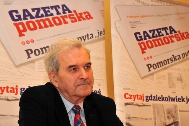 Konstanty Dombrowicz często komentuje i krytykuje działania swojego następcy, czyli prezydenta Rafała Bruskiego.