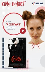 """W środę wraca Kino Kobiet w bydgoskim """"Heliosie"""". Na panie czeka film """"Cruella"""" i wiele atrakcji"""