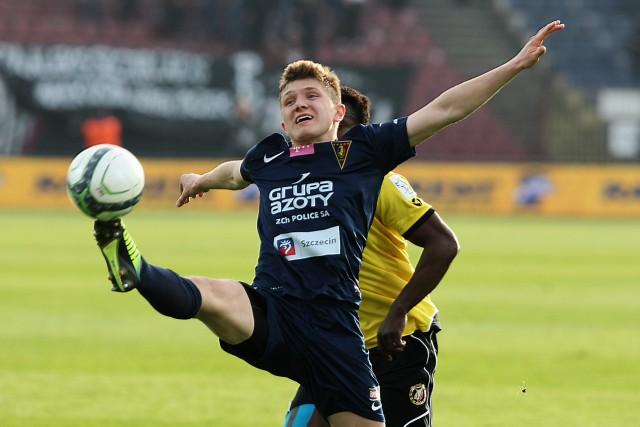 Dominik Kun zagrał w meczu rezerw Pogoni Szczecin.