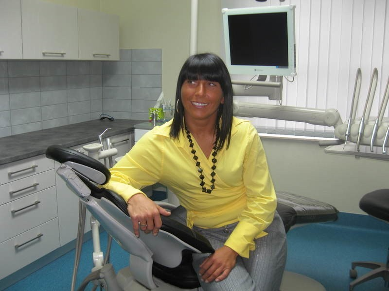 - Nasze Centrum jest świetnie wyposażone - mówi asystentka medyczna Romana Kurcewicz.