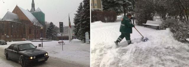 Zima w Kołobrzegu