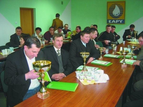 Mleczarnia w Łapach od lat organizuje spotkania z producentami mleka. Chce docenić ich starania wręczając nagrody.