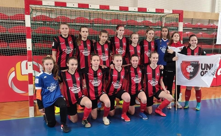 Futsalistki Unii Opole U14.