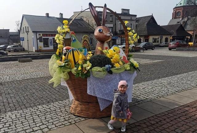 Wielkanocne dekoracje w Czeladzi