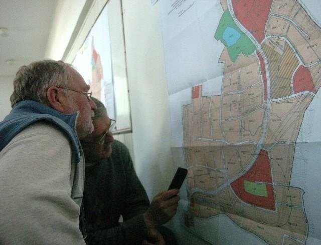 Mieszkańcy przeglądali się wprowadzonym zmianom planistycznym