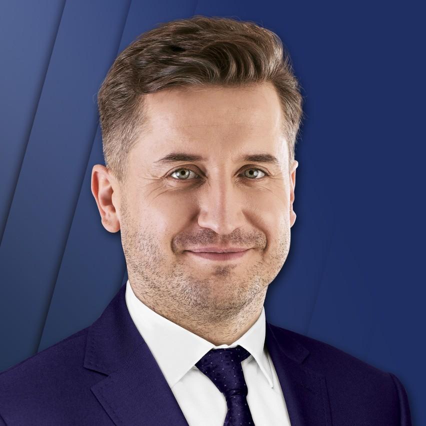 Przewodniczący Rady Miasta Kielce Kamil Suchański