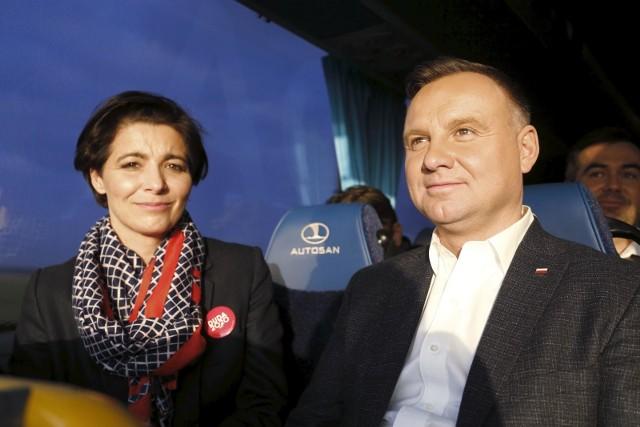 Jolanta Turczynowicz-Kieryłło w trasie z prezydentem Andrzejem Dudą