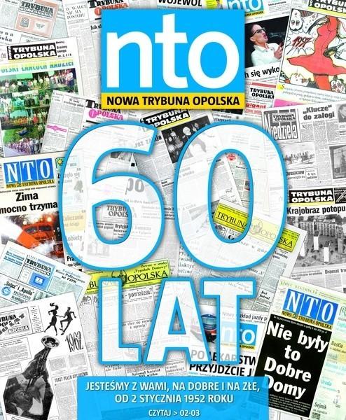 """Ukazuje się od listopada 2004 roku. W ciągu tych  sześćdziesięciu lat najpierw """"Trybuna Opolska"""", a potem nto kilka razy zmieniała swoją szatę graficzną. Zmienił się także jej format - na początku strona gazetowa była dwa razy większa od dzisiejszej. Pierwsze kolorowe zdjęcie pojawiło się w niej w październiku 1996 roku."""