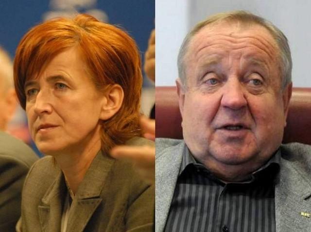 Elżbieta Rafalska i Władysław Komarnicki najbardziej rozpoznawalni