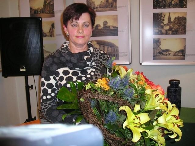 Najżyczliwsza goleniowianka otrzymała statuetkę oraz bukiet kwiatów.