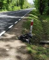 Szczeniaki w worku naprzeciwko zajazdu w Zawidzy w gminie Łoniów. Co się stało?
